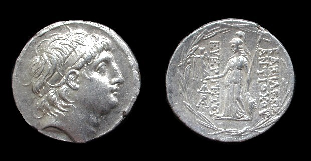 A Tetradrachm of Antiochos VII Sidetes