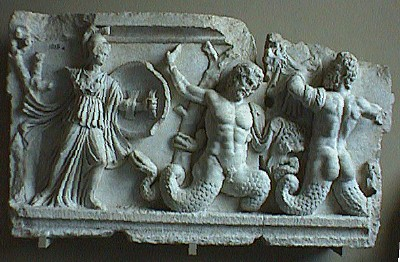 Aphrodisian Gigantomachy in the Istanbul Archaeological Museum