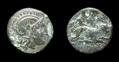 A bronze coin of Lysimachos from the mint of Lysimacheia